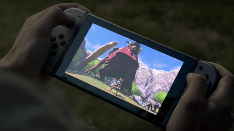 hraní na nintendo nx switch