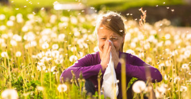 příznaky a typy alergie