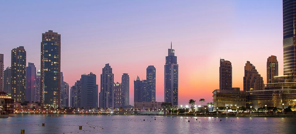 Město Dubaj